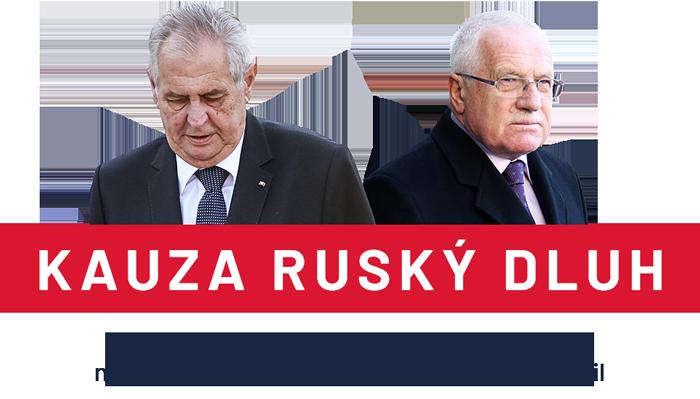 Klaus po revoluci tajně poslal 1,3 miliardy dolarů Sovětům. Zeman dluh odpustil